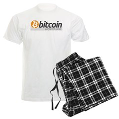 Bitcoins-7 Men's Light Pajamas