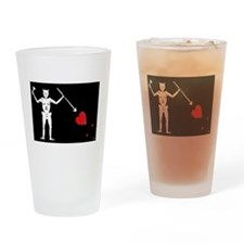 Blackbeard's Pirate Flag Pint Glass