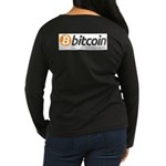 Bitcoins-7 Women's Long Sleeve Dark T-Shirt