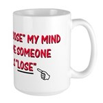 Loose vs Lose Large Mug
