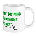 Loose vs Lose Mug