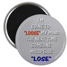 Loose vs Lose Magnet
