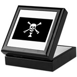 Emanuel Wynn's Pirate Flag Keepsake Box