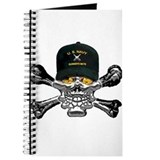 USN Gunners Mate Skull Journal