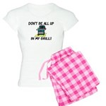 All Up In My Grill Women's Light Pajamas
