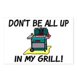 All Up In My Grill Postcards (Package of 8)