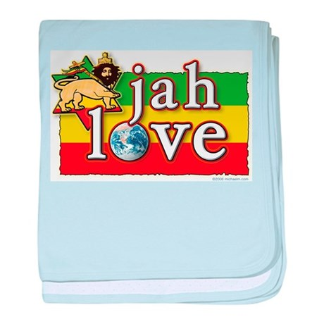 Jah Love baby blanket
