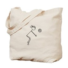 Cute Stick figure Tote Bag
