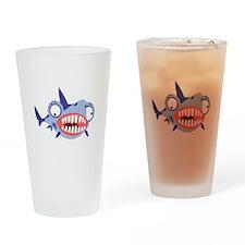 Loony Shark Pint Glass