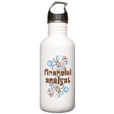 Financial Analyst Water Bottle