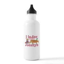 J is for Jocelyn Water Bottle