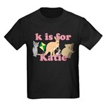 K is for Katie Kids Dark T-Shirt