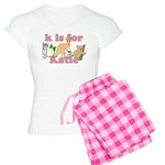 K is for Katie Women's Light Pajamas