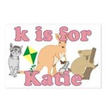 K is for Katie Postcards (Package of 8)