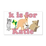 K is for Katie 22x14 Wall Peel