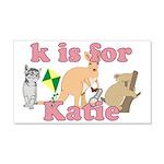 K is for Katie 22x14 Wall Peel