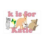 K is for Katie 38.5 x 24.5 Wall Peel