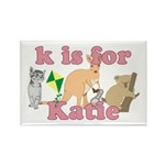 K is for Katie Rectangle Magnet (10 pack)