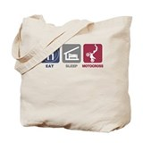 Eat Sleep Motocross Tote Bag
