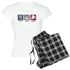 Eat Sleep Quads pajamas
