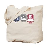 Eat Sleep Mountain Bike Tote Bag