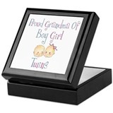 Proud Grandma of Boy Girl Twi Keepsake Box