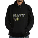Proud Navy Girlfriend Hoodie