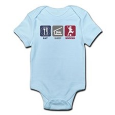 Eat Sleep Soccer - Woman Infant Bodysuit