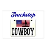TRUCKSTOP COWBOY Postcards (Package of 8)