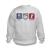 Eat Sleep Football Jumper Sweater
