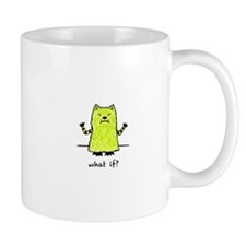 Green Whatif Monster Mug