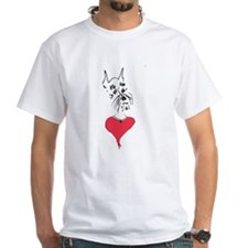 Schnauzer Love & Dog's Secret Poem T Shirt