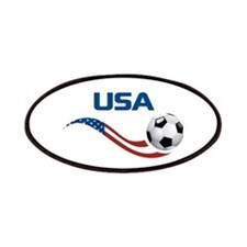 Soccer USA Pocket Size Patches