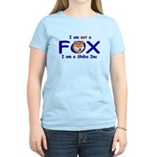 I am not a fox I am a shiba I T-Shirt
