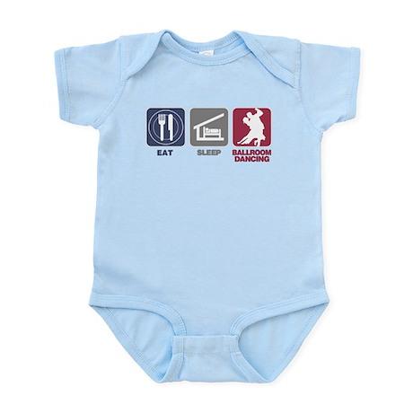 Eat Sleep Ballroom Dance Infant Bodysuit
