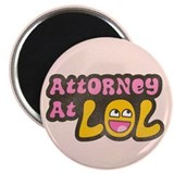 Attorney at LOL 2.25&quot; Magnet (100 pack)