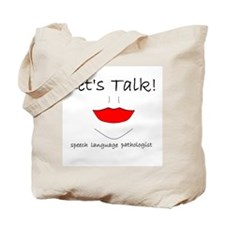 Let's Talk! Tote Bag