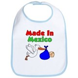 Made In Mexico (Boy) Bib