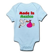 Made In Mexico (Girl) Infant Bodysuit