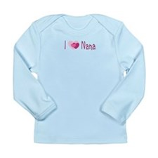 I Heart Nana Long Sleeve Infant T-Shirt