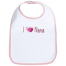 I Heart Nana Bib