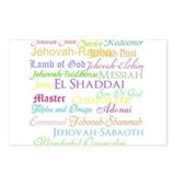 Names of God Postcards (Package of 8)