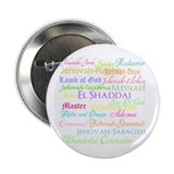 "Names of God 2.25"" Button (100 pack)"