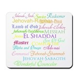 Names of God Mousepad