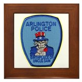 Arlington Texas Police Framed Tile