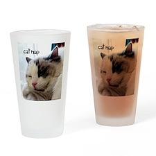 Cat Nap Pint Glass