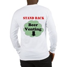 Beer Venting Long Sleeve T-Shirt