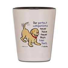 Four Feet (Dog) Shot Glass