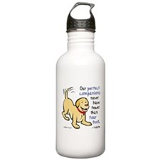 Four Feet (Dog) Water Bottle