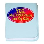 Yes Dog Kids baby blanket